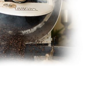 image of coffee roasting